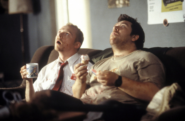 Shaun of the Dead before zombies