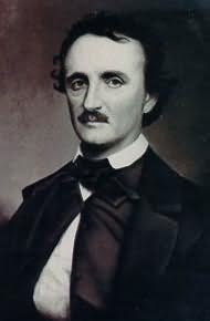 Picture of poet Edgar Allan Poe; nineteenth century American Literature and poetry