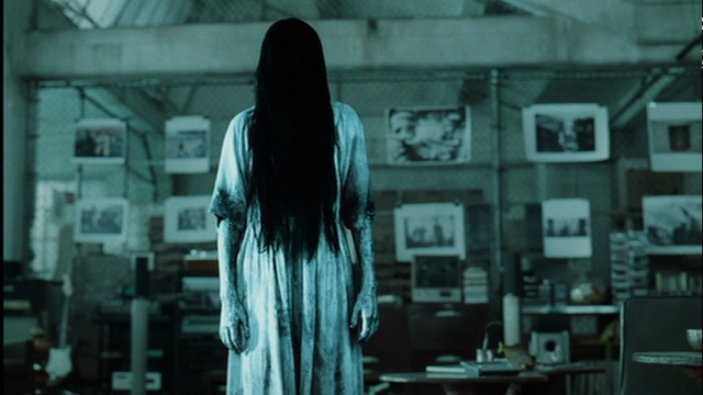 Samara the psychopathic girl from the Ring